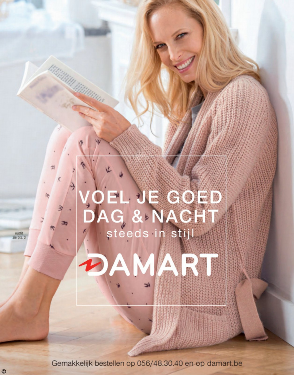 Damart Folder – geldig van 01.01.2018 tot 15.06.2018