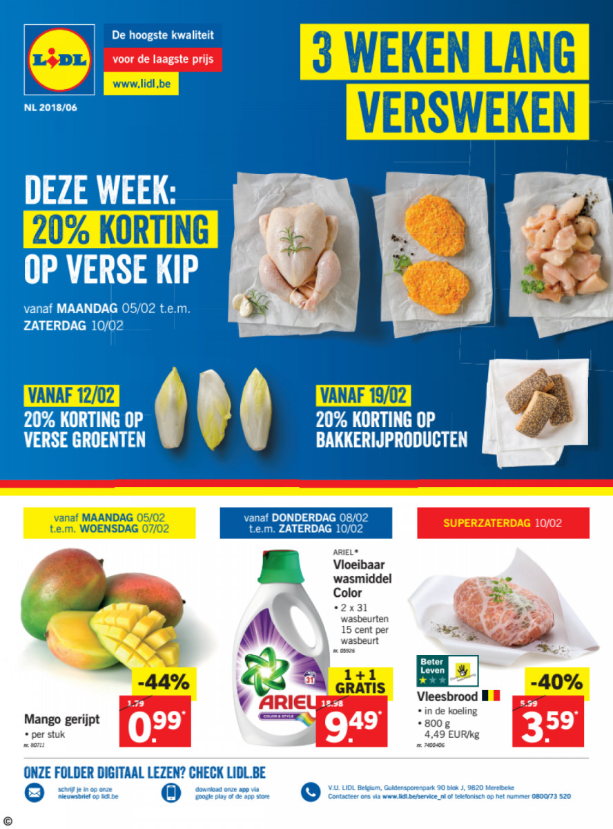 Lidl Folder Week 06 Geldig Van 05022018 Tot 10022018 Folders