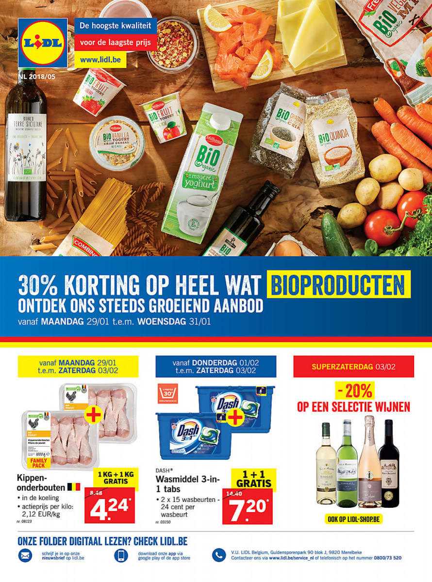 Lidl Folder Week 05 Geldig Van 29012018 Tot 03022018 Folders