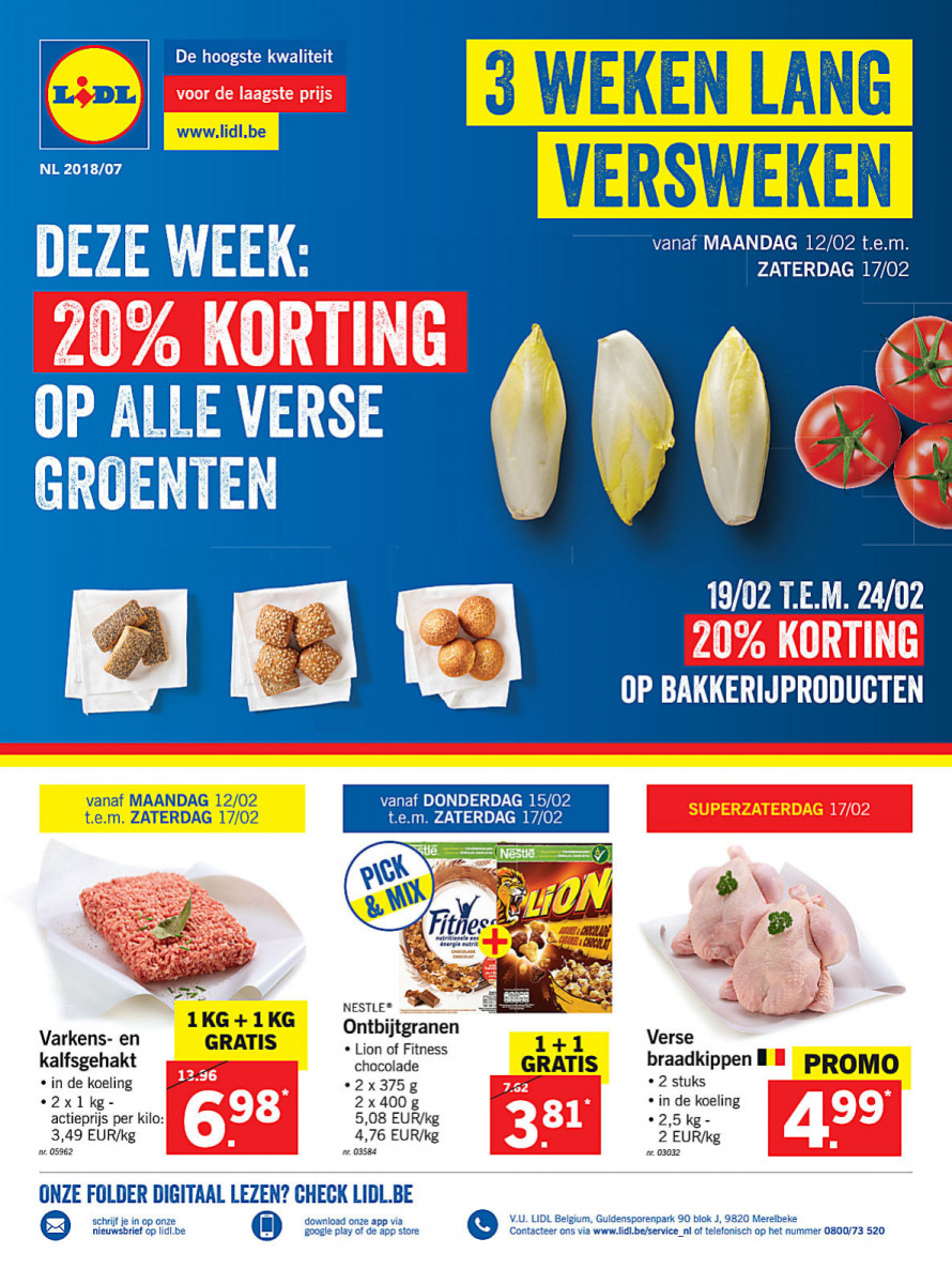 Lidl Folder Week 07 Geldig Van 12022018 Tot 17022018 Folders