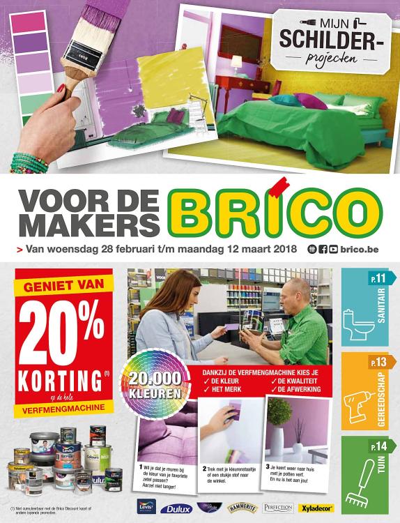 Brico Folder – geldig van 28.02.2018 tot 12.03.2018