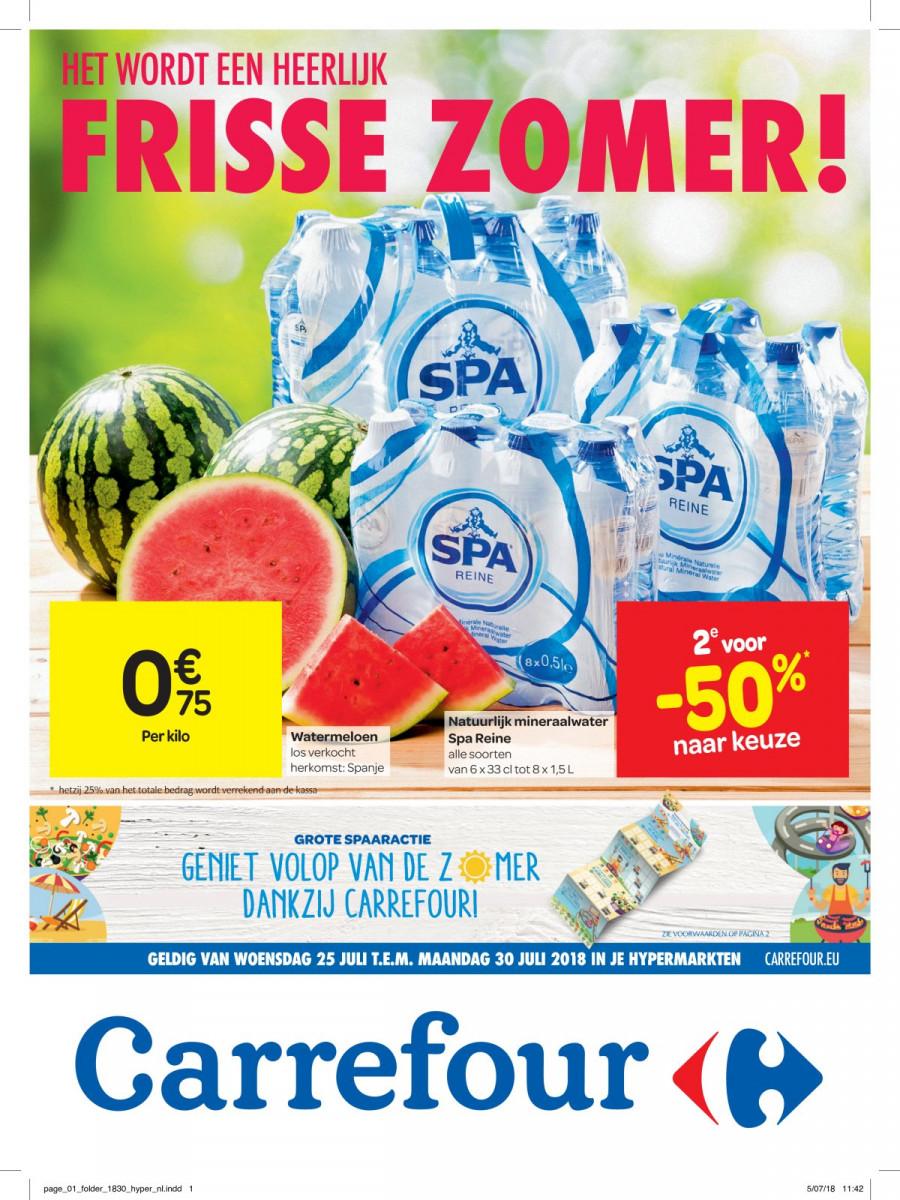Carrefour Folder – geldig van 25.07.2018 tot 30.07.2018