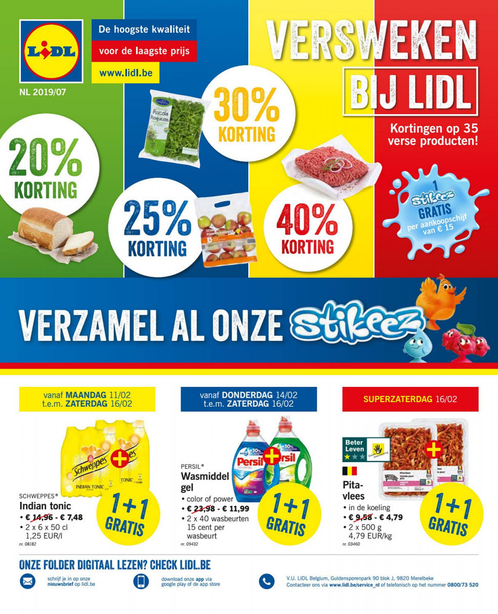 Lidl Folder Week 7 Geldig Van 11022019 Tot 16022019 Folders