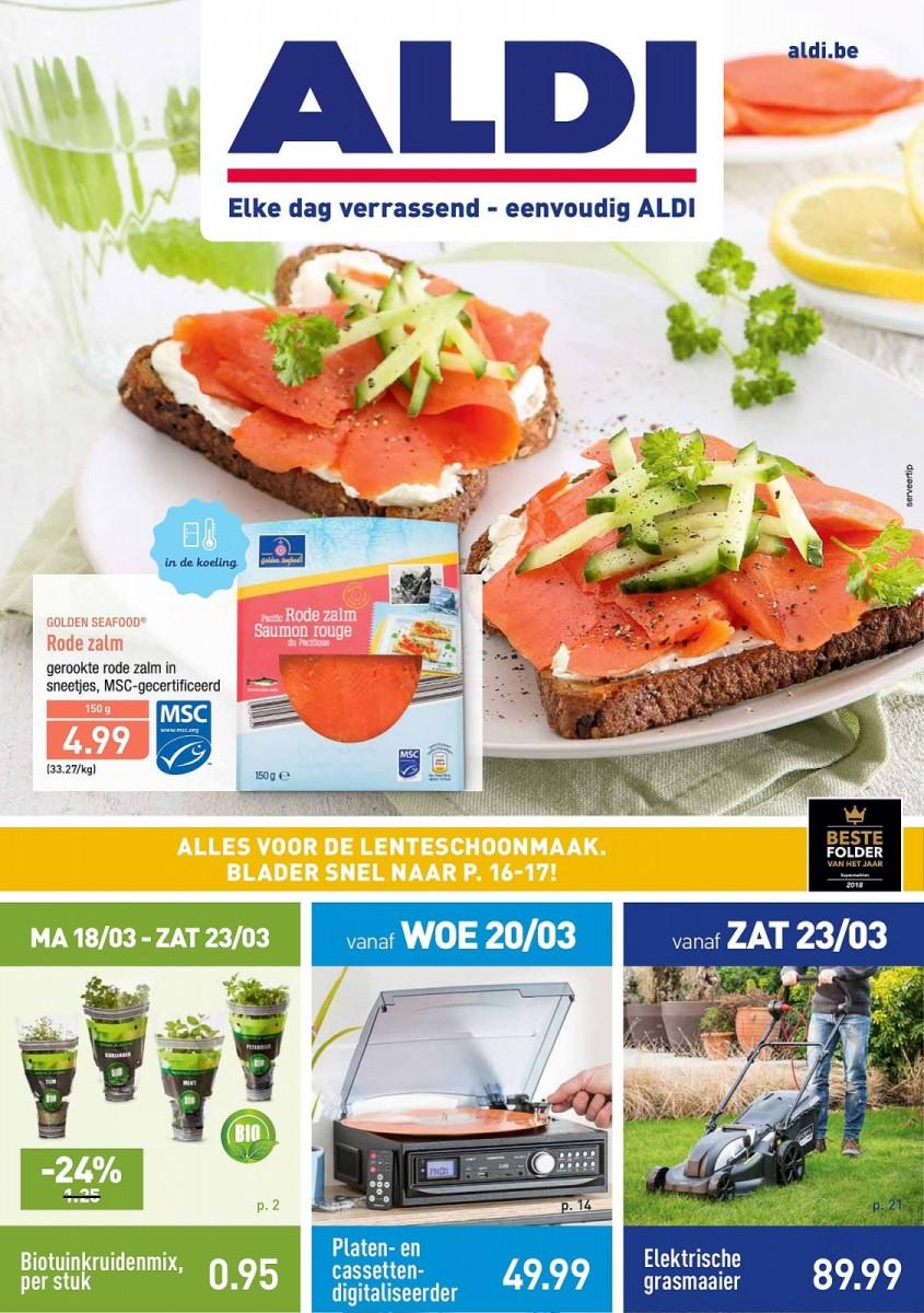 Aldi Folder 18.03.2019 - 24.03.2019 - Aldi folder week 12