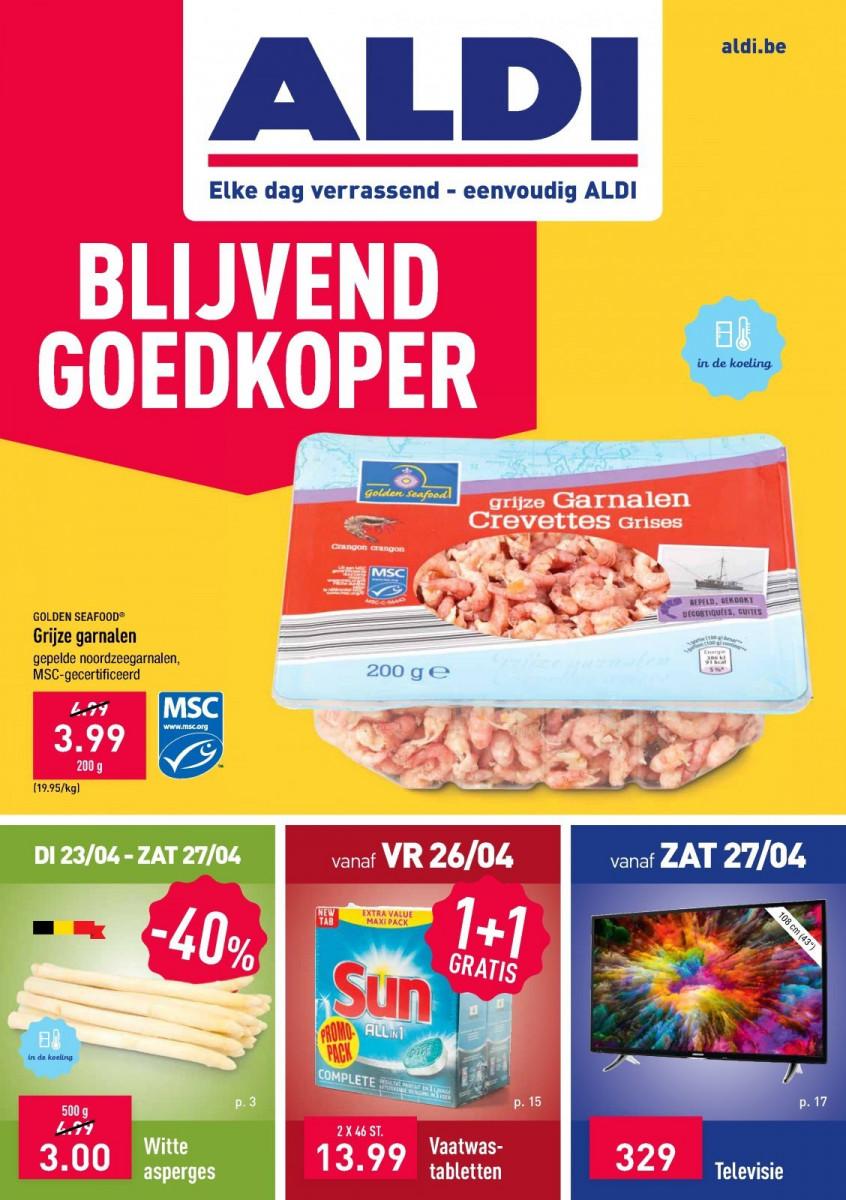 Aldi Folder 23.04.2019 - 28.04.2019 - Aldi folder week 17