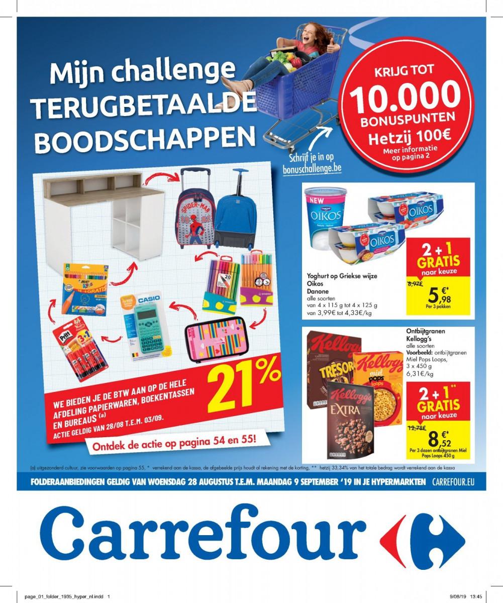Carrefour Folder – geldig van 28.08.2019 tot 09.09.2019